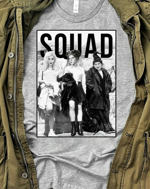 Sanderson Sisters SQUAD Shirt / Hocus Pocus Shirt / Halloween Shirt / Men Women Youth Sizes / Halloween 2019 Long Sleeve Sweatshirt Hoodie Jolly Family Gifts