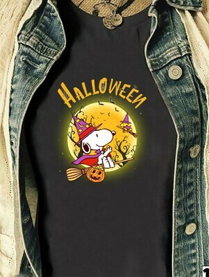 Snoopy Witch Halloween, Snoopy And Peanuts Trick Or Treat Halloween Costume,Ghost Bat Family Vacation Gifts T-Shirt Long Sleeve Sweatshirt Hoodie Jolly Family Gifts