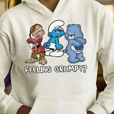 Grumpy Friends Feeling Grumpy T-shirt,Walt Disney World,Grumpy Seven Dwarfs Shirt,Grumpy Friends TShirt,Grumpy Old Man Long Sleeve Sweatshirt Hoodie Jolly Family Gifts