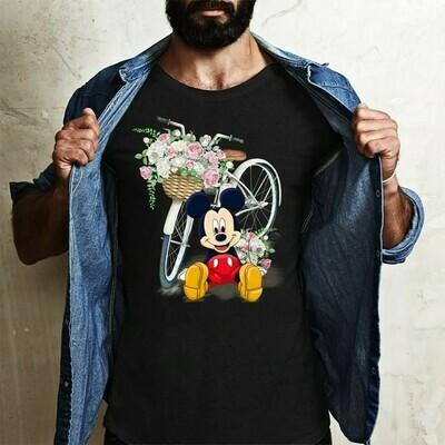 Disney Grumpy Seven Dwarfs grumpy bike n flower Snow White and the Seven Dwarfs,Walt Disney World,Grumpy Old Man,Dopey Seven Dwarfs T Shirt Long Sleeve Sweatshirt Hoodie Jolly Family Gifts