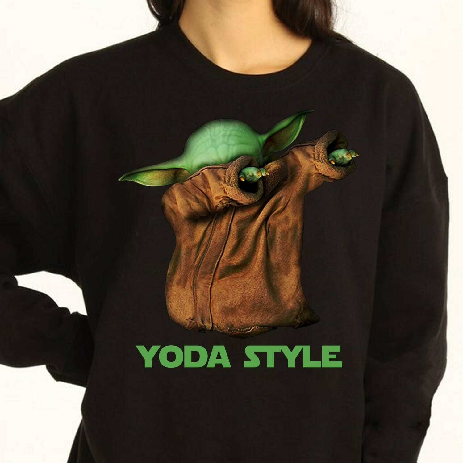 Yoda style Baby Yoda shirt,Star wars shirt,The Mandalorian The Child Discovery Silhouette,Baby Yoda The Child Unknown Species T-Shirt Long Sleeve Sweatshirt Hoodie Jolly Family Gifts