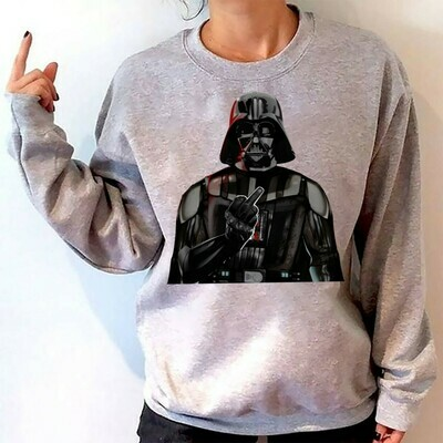 Star Wars Darth Vader Fly For The Glory Of The Empire,Dark Side Funny Parody,Darth Vader Skull The Star Wars Saga Continues T-Shirt Long Sleeve Sweatshirt Hoodie Jolly Family Gifts