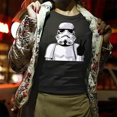 Star Wars Imperial Stormtrooper helmet selfie Light sabre Inspired Men's Sugar Skull Darth on Holiday Vader StormTrooper T-shirt Long Sleeve Sweatshirt Hoodie Jolly Family Gifts