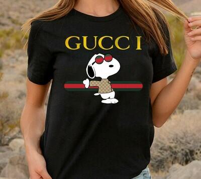 Snoopy Gucci, Gucci Shirts, Gucci T-shirt, Gucci Logo, Gucci Fashion shirt, Fashion shirt, Gucci Design shirt, Snake Gucci vintage shirt Long Sleeve Sweatshirt Hoodie Jolly Family Gifts
