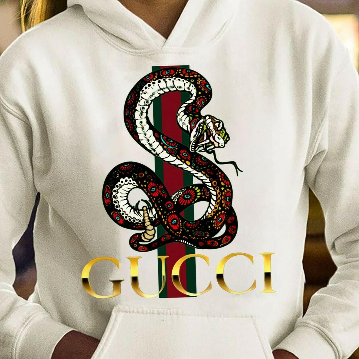 Classic Logo Snake Supreme Louis Vuitton Shirt LV T-shirt Louis Vuitton Fashion LV Fashion Shirts for Women Men Youth Kids Vintage T Shirt Long Sleeve Sweatshirt Hoodie Jolly Family Gifts