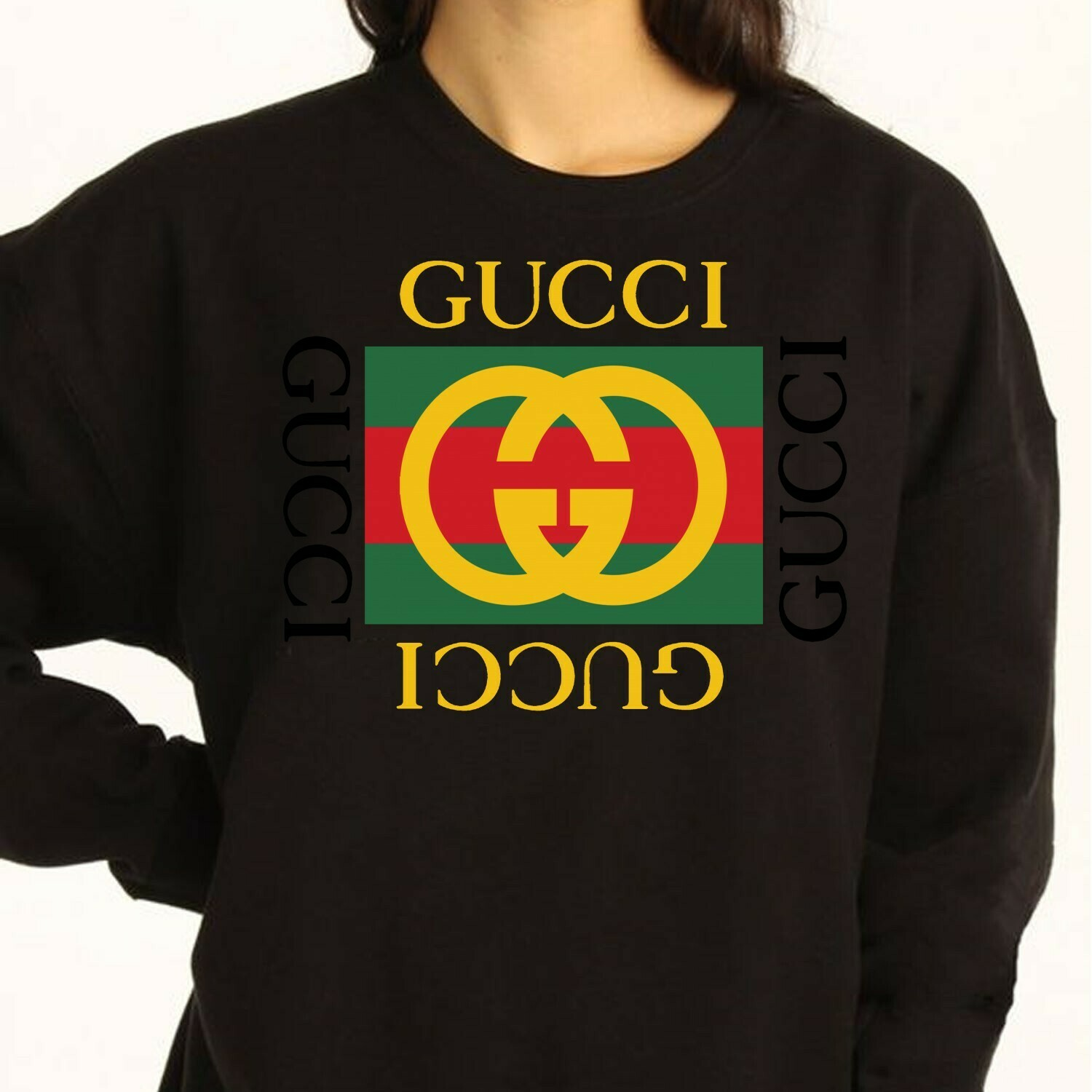 Classic Logo Gucci Clothing Brand Gucci Logo Gucci Design T-shirt Snake Vintage Fashion Luxury Shirts for Women Men Youth Kids T Shirt Long Sleeve Sweatshirt Hoodie Jolly Family Gifts