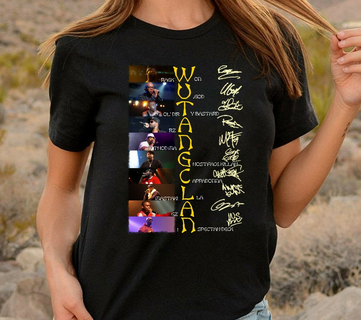 Wu Tang Clan Raekwon U God Oldir Ty Bastard Rza Methodman Signature,American hip hop group Fan,Wu Tang Clan Ice Cream Raekwon T-Shirt Long Sleeve Sweatshirt Hoodie Jolly Family Gifts