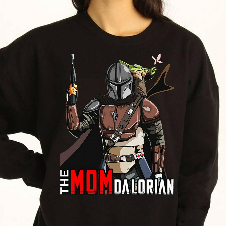 The Mondalorian Star Wars T-shirt,Baby Yoda Star Wars The Mandalorian The Child First Memories Floating Pod T-Shirt,Star Wars 2020 designs Long Sleeve Sweatshirt Hoodie Jolly Family Gifts