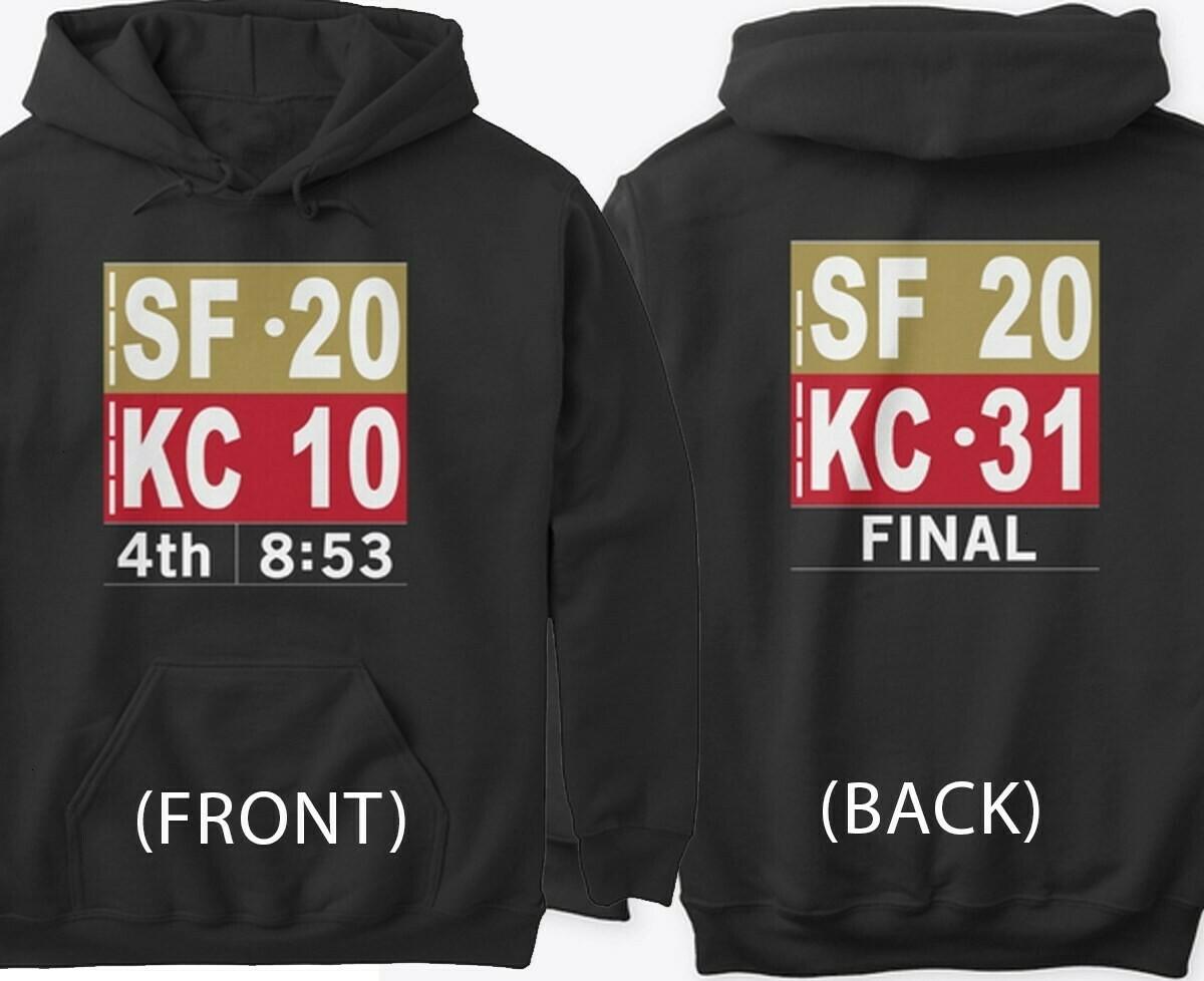 Kansas City Chiefs Super Bowl 54 2020 LIV Champions Mahomes NFL Football Team Dad Mon Kid Fan Gift T-Shirt Long Sleeve Sweatshirt Hoodie Jolly Family Gifts