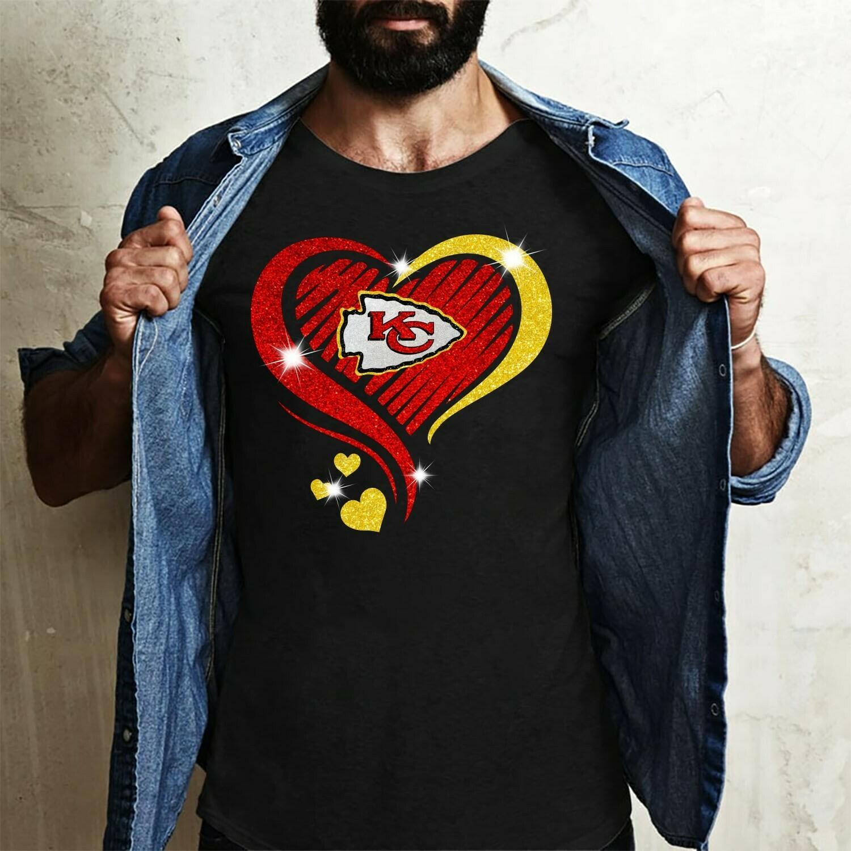 Love Kansas City Chiefs Super Bowl 54 2020 LIV Champions February 2 2020 Miami Mahomes NFL Football Team Dad Mon Kid Fan Gift T-Shirt Long Sleeve Sweatshirt Hoodie Jolly Family Gifts