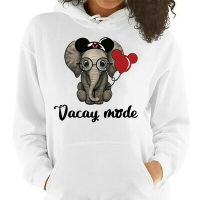 Baby disney Elephant Vacay Mode balloon mickey mouse,The Fly Dumbo Movie Lovely disney Mouse Ears T-Shirt Long Sleeve Sweatshirt Hoodie Jolly Family Gifts
