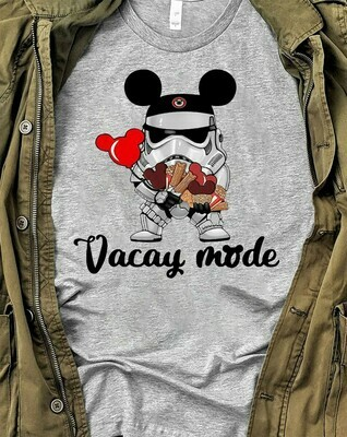 Star Wars Stormtrooper Micky Vacay Mode Mouse Disney,Stormtrooper Inspired Digital Mouse Ears T-Shirt Long Sleeve Sweatshirt Hoodie Jolly Family Gifts