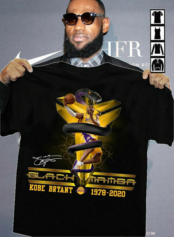 Black Mamba Los angeles Lakers LA GOAT Rip Kobe Bryant Legends Lakers Baseketball 1978 - 2020 NBA Basketball Dad Mon Kid Fan Gift T-Shirt Long Sleeve Sweatshirt Hoodie Jolly Family Gifts