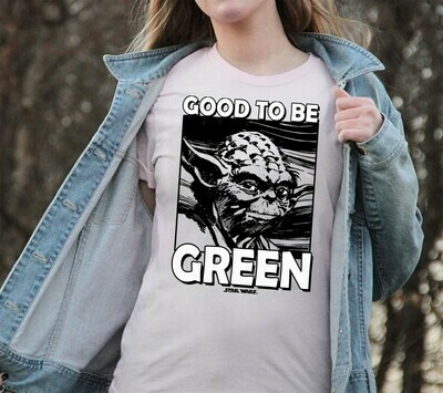 Star Wars Juniors' St. Patrick's Day Yoda Good to Be Green,The Rise of Skywalker Movie Memes Fan T-Shirt Unisex T-Shirt Sweatshirt Hoodie Long Sleeve Kids Tee Jolly Family Gifts