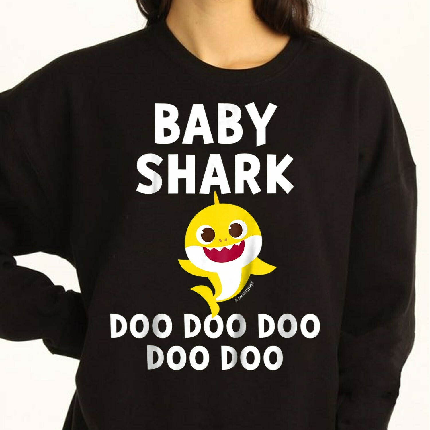 Pinkfong Custom Toddler Baby Shark Doo Doo Doo Family Vacation Shirts Birthday Shark Mommy Daddy Grandma Sister Brother Shark s T-Shirt Sweatshirt Hoodie Long Sleeve Tee Kids Youth Gifts Jolly Family