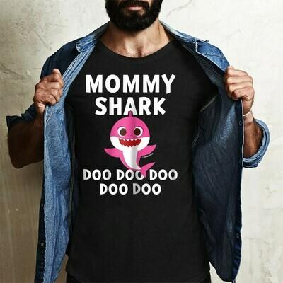 Mommy Shark Pinkfong Toddler Baby Shark Doo Doo Doo Family Vacation Birthday Shark Mommy Daddy Grandma Sister Brother Shark s T-Shirt Sweatshirt Hoodie Long Sleeve Tee Kids Youth Gifts Jolly Family