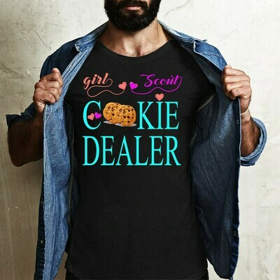 Girl Scout Cookie Dealer,Keep CALM I have Girl Scout cookies  T-Shirt Sweatshirt Hoodie Long Sleeve Tee Kids Youth Gifts Jolly Family Gifts