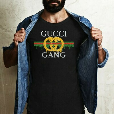 Gang Gold Cover Gucci,Popular Fancy Party Casual Brandy,Fruit Of The Loom Bootleg Gucci gift  T-Shirt Hoodie Sweatshirt Sweater Tee Kids Youth Gifts Jolly Family Gifts