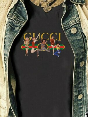 Spice Girls Gucci Parody,Posh Mel B Mel C Ginger Retro Vintage Cult Girl Girly Band  T-Shirt Hoodie Sweatshirt Sweater Tee Kids Youth Gifts Jolly Family Gifts