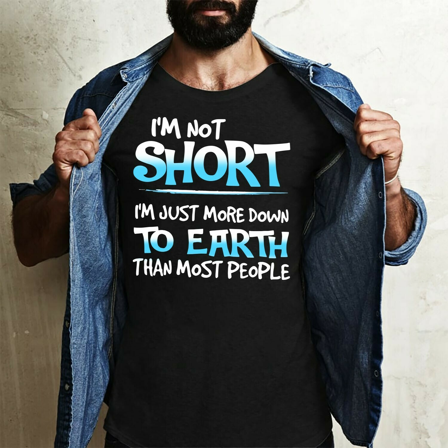 I'm not Short I'm just more down to Earth than most people,I'm Not Short I'm Fun Sized,I'm Not Short Quotes  T-Shirt Hoodie Sweatshirt Sweater Tee Kids Youth Gifts Jolly Family Gifts