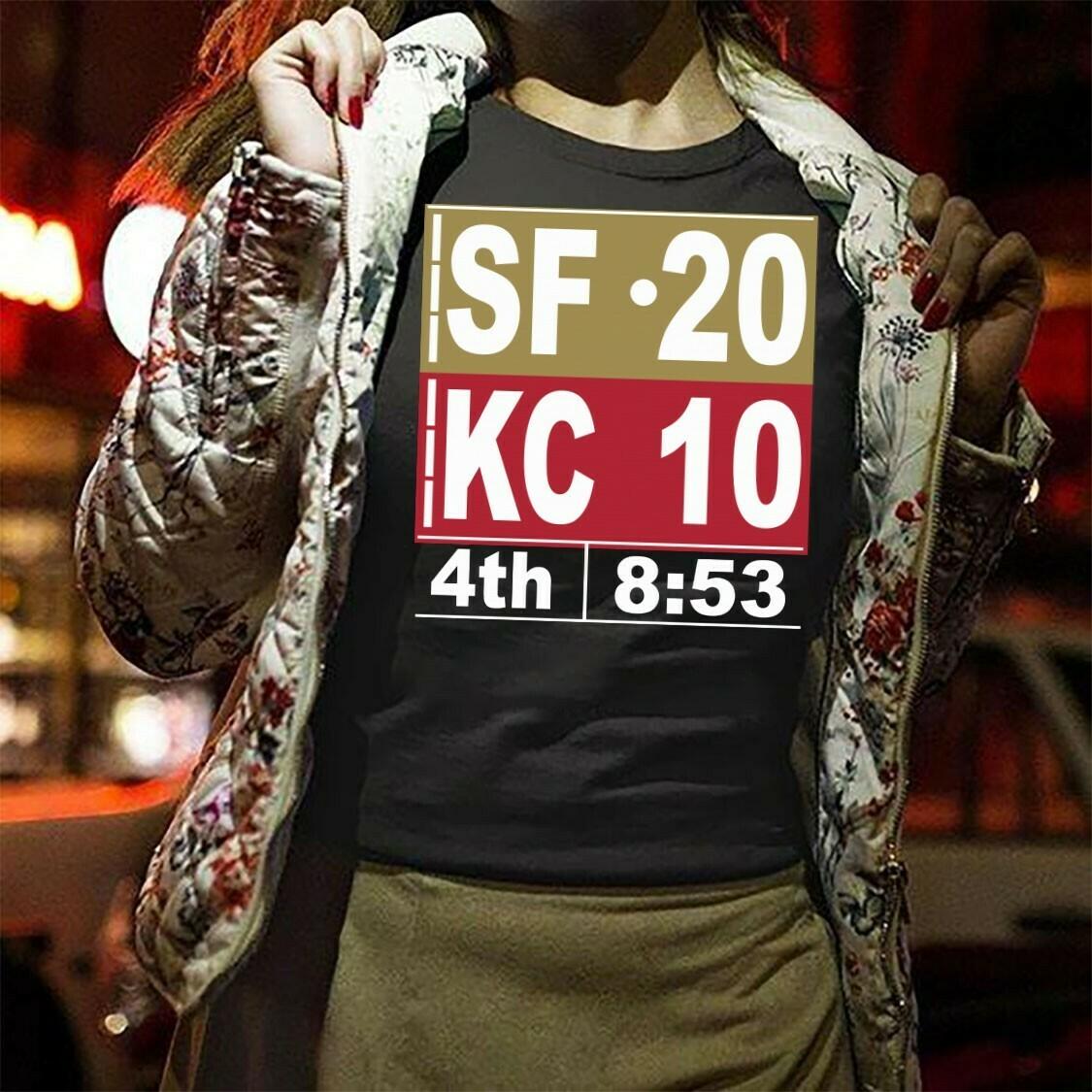SF 20 KC 10 T-Shirt Hoodie Sweatshirt Sweater Tee Kids Youth Gifts Jolly Family Gifts