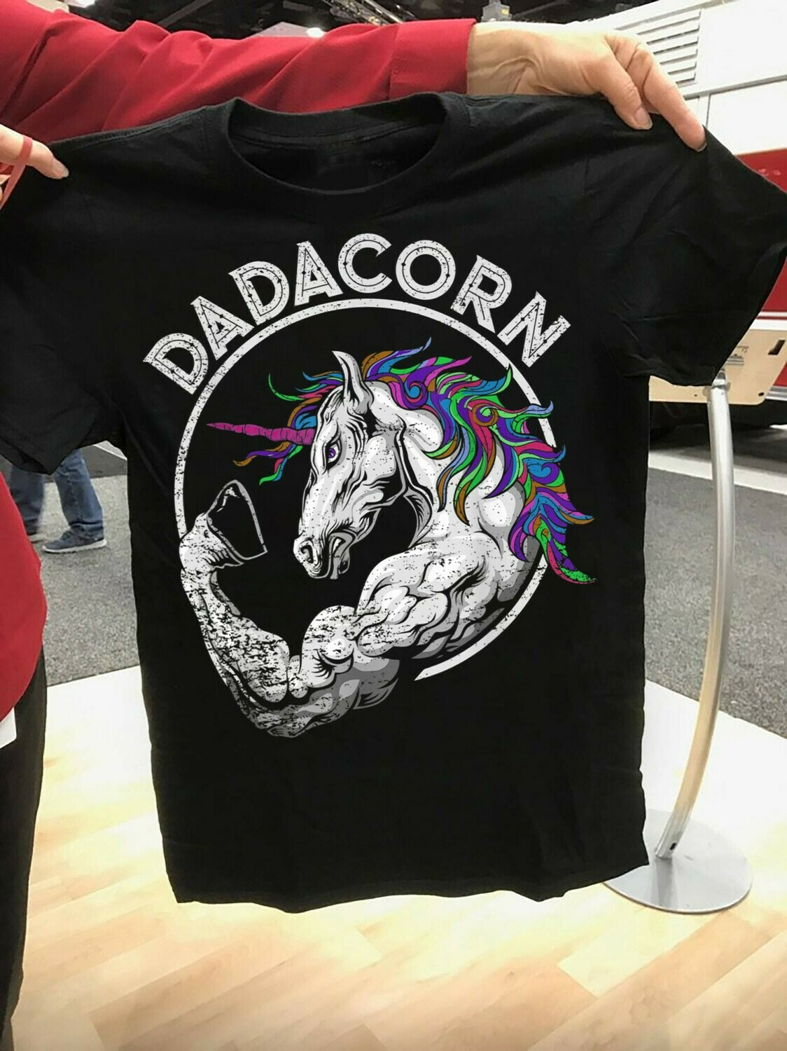 Dadacorn Dadicorn Daddycorn Proud Dad Of the Unicorn gift for him Dad Papa Baby grandpa Father's Day T-Shirt Hoodie Sweatshirt Sweater Tee Kids Youth Gifts Jolly Family Gifts