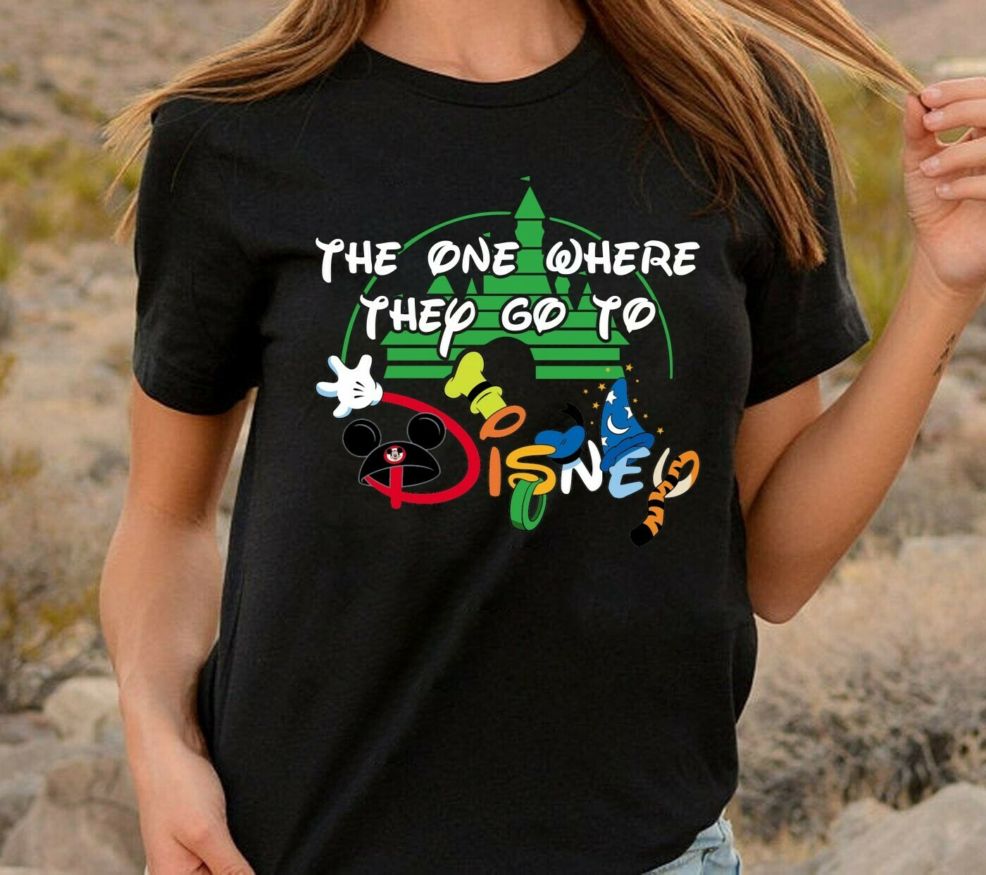 The one where they go to Disney Friends Inspired Disney World Family Trip Group Matching Friends  T-Shirt Hoodie Sweatshirt Sweater Tee Kids Youth Gifts Jolly Family Gifts