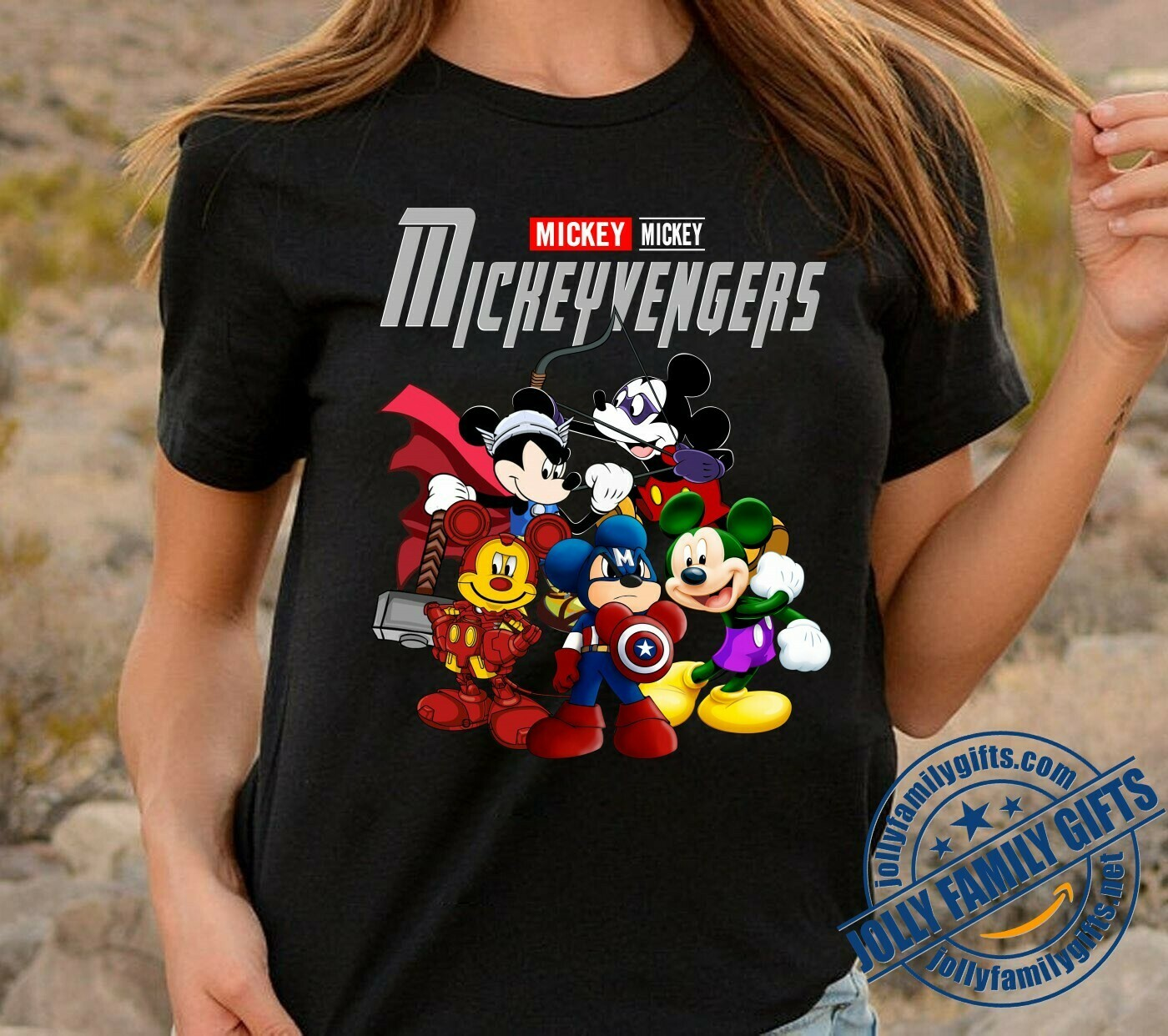 Disney Mickeyvengers Marvel Avengers Endgame gift for Kid Men Women T-Shirt Hoodie Sweatshirt Sweater Tee Kids Youth Gifts Jolly Family Gifts