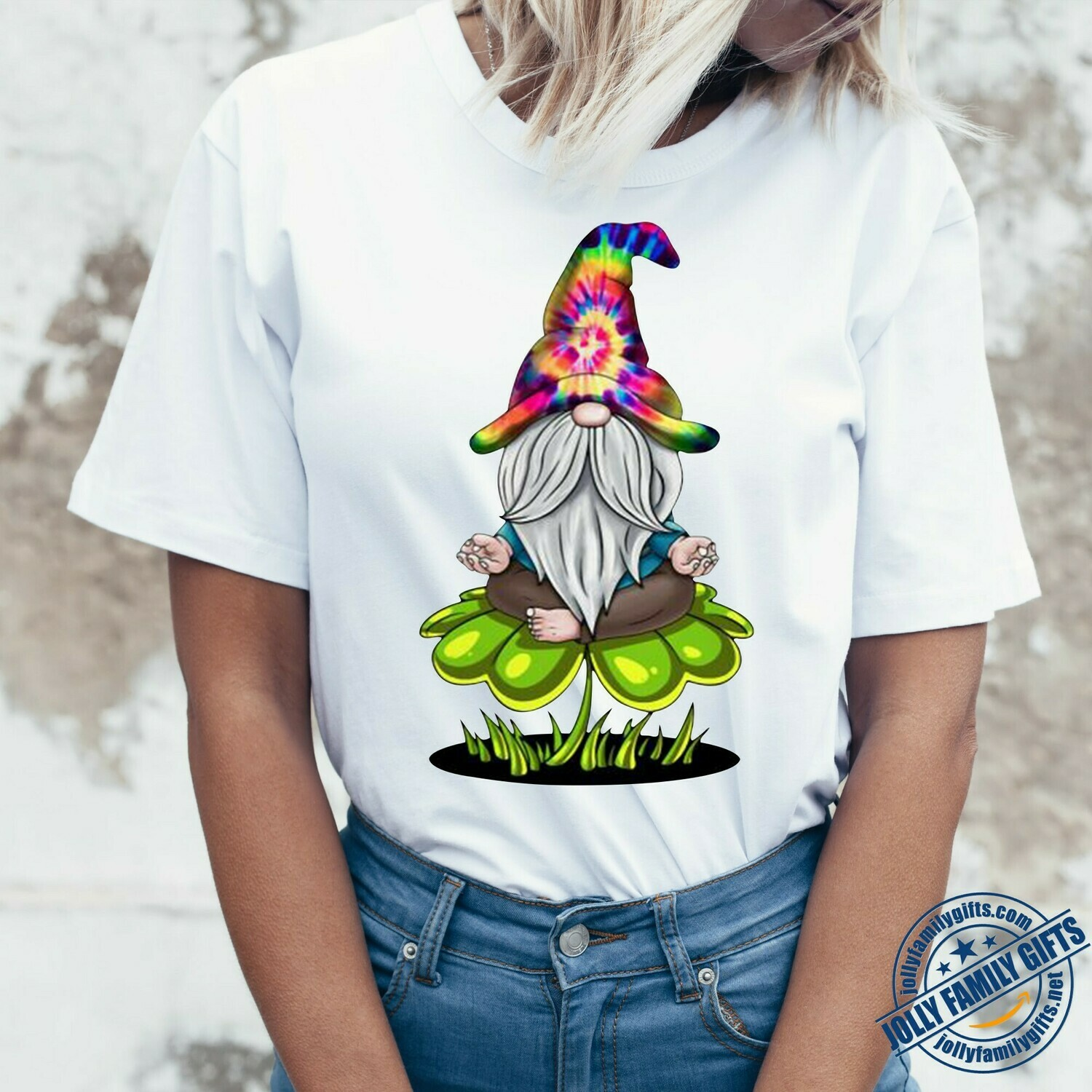 Hippie Bohemian Gnome Yoga Gnomaste Asanas Pose gift for Yoga lover T-Shirt Hoodie Sweatshirt Sweater Tee Kids Youth Gifts Jolly Family Gifts