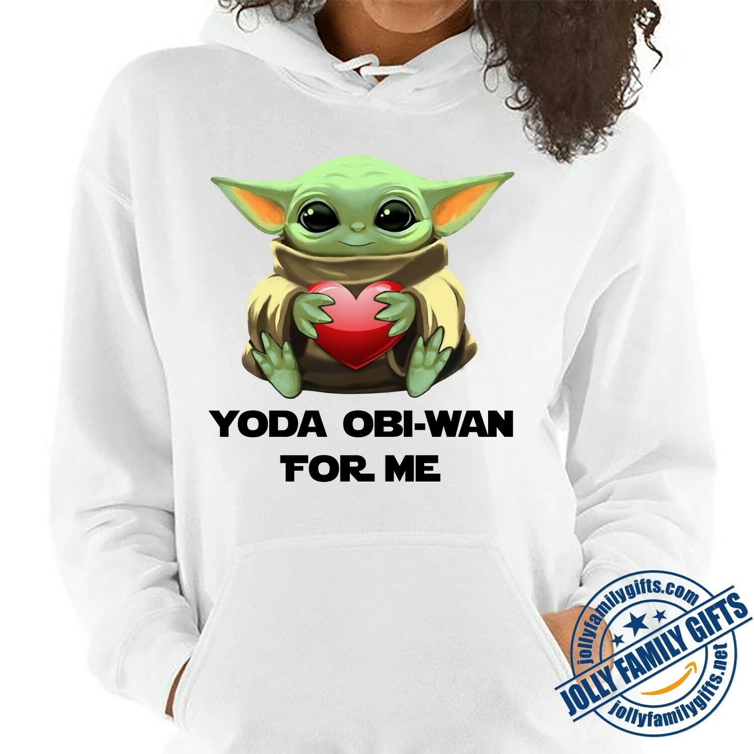 Baby Yoda The Mandalorian with death Star Wars Movie Yoda Obi-Wan for Me,Yoda Hug Heart Valentines Gift for her him girlfriend Unisex T-Shirt Hoodie Sweatshirt Sweater for Ladies Women Men Kids Youth