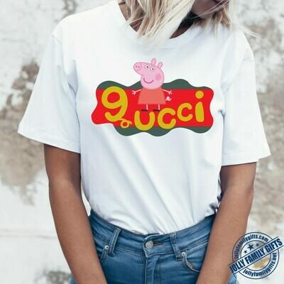 Peppa Gucci Gucci Shirts Gucci T-shirt Gucci Logo Gucci Fashion shirt Fashion shirt Gucci Design shirt Snake Gucci vintage shirt Unisex T-Shirt Hoodie Sweatshirt Sweater for Ladies Women Men Kids