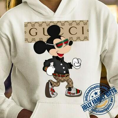 Mickey Gucci Gucci Shirts Gucci T-shirt Gucci Logo Gucci Fashion shirt Fashion shirt Gucci Design shirt Snake Gucci vintage shirt Unisex T-Shirt Hoodie Sweatshirt Sweater for Ladies Women Men Kids