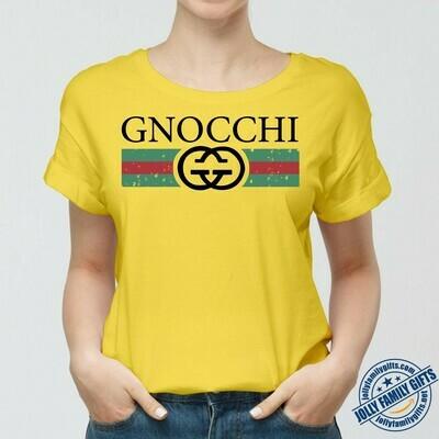 Gucci GNOCCHI Logo Gucci, Gucci Shirt, Gucci T-shirt, Gucci Logo, Gucci Fashion shirt Gucci Design shirt, Snake Gucci vintage shirt Unisex T-Shirt Hoodie Sweatshirt Sweater for Ladies Women Men Kids