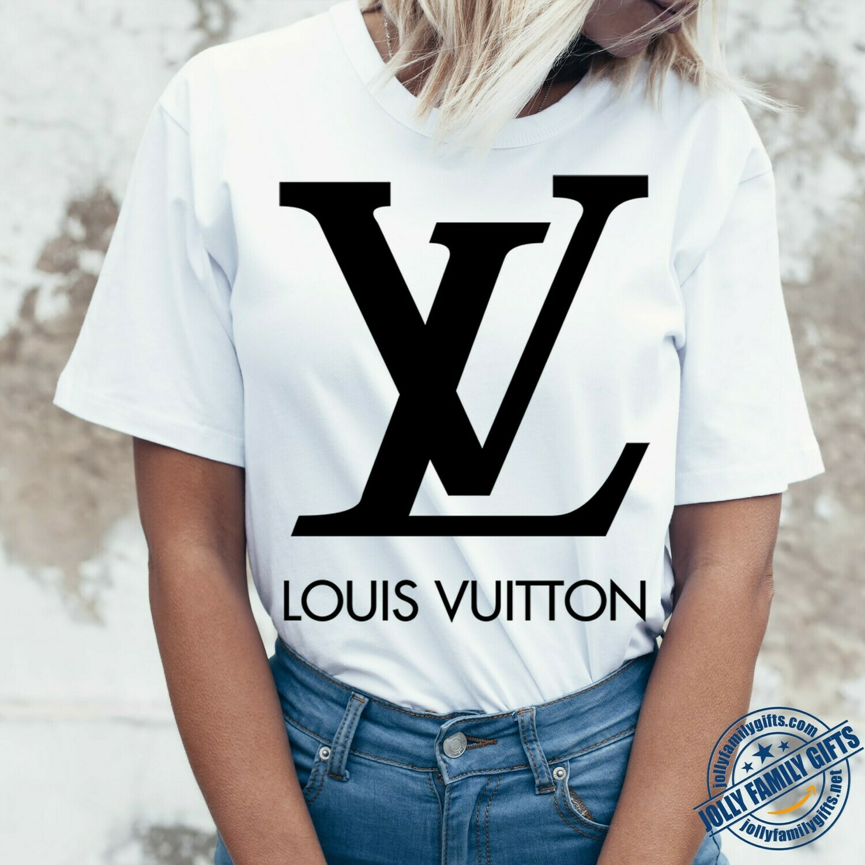 Classic Logo Louis Vuitton Shirt LV T-shirt Louis Vuitton Logo Fashion LV Design Fashion Shirts for Women Men Vintage  Unisex T-Shirt Hoodie Sweatshirt Sweater for Ladies Women Men Kids Youth Gifts