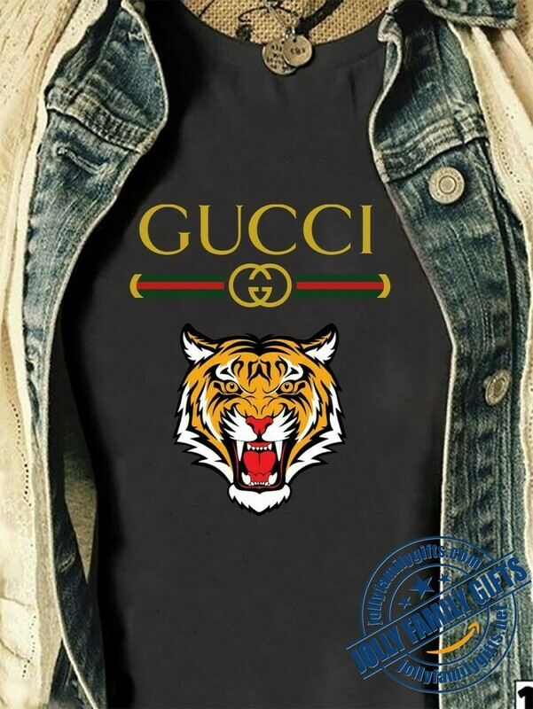 Tiger Logo Gucci, Gucci Shirt, Gucci T-shirt, Gucci Logo, Gucci Fashion shirt, Fashion shirt, Gucci Design shirt, Snake Gucci vintage shirt Unisex T-Shirt Hoodie Sweatshirt Sweater for Ladies Women