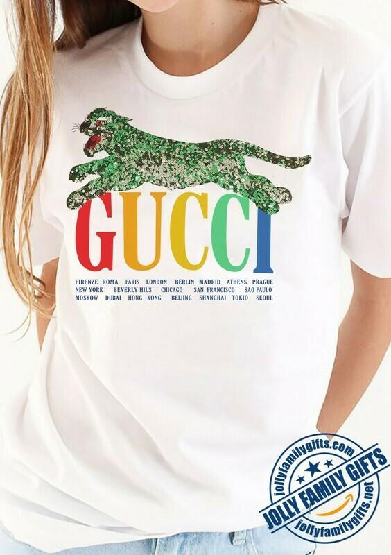 Classic Logo Leopard Gucci,Gucci Shirt,Gucci T-shirt,Gucci Logo,Gucci Fashion shirt,Fashion shirt,Gucci Design,Snake Gucci vintage shirt Unisex T-Shirt Hoodie Sweatshirt Sweater for Ladies Women Men