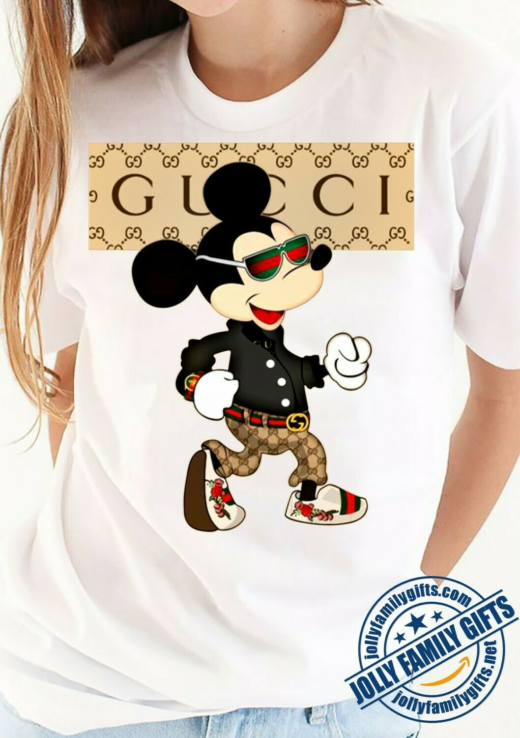 Gucci Mickey Mouse Valentine's Men,Mouse Walking Disney Stylish ,Let's Go to Disney World Family Friends Team Party  Unisex T-Shirt Hoodie Sweatshirt Sweater for Ladies Women Men Kids Youth Gifts