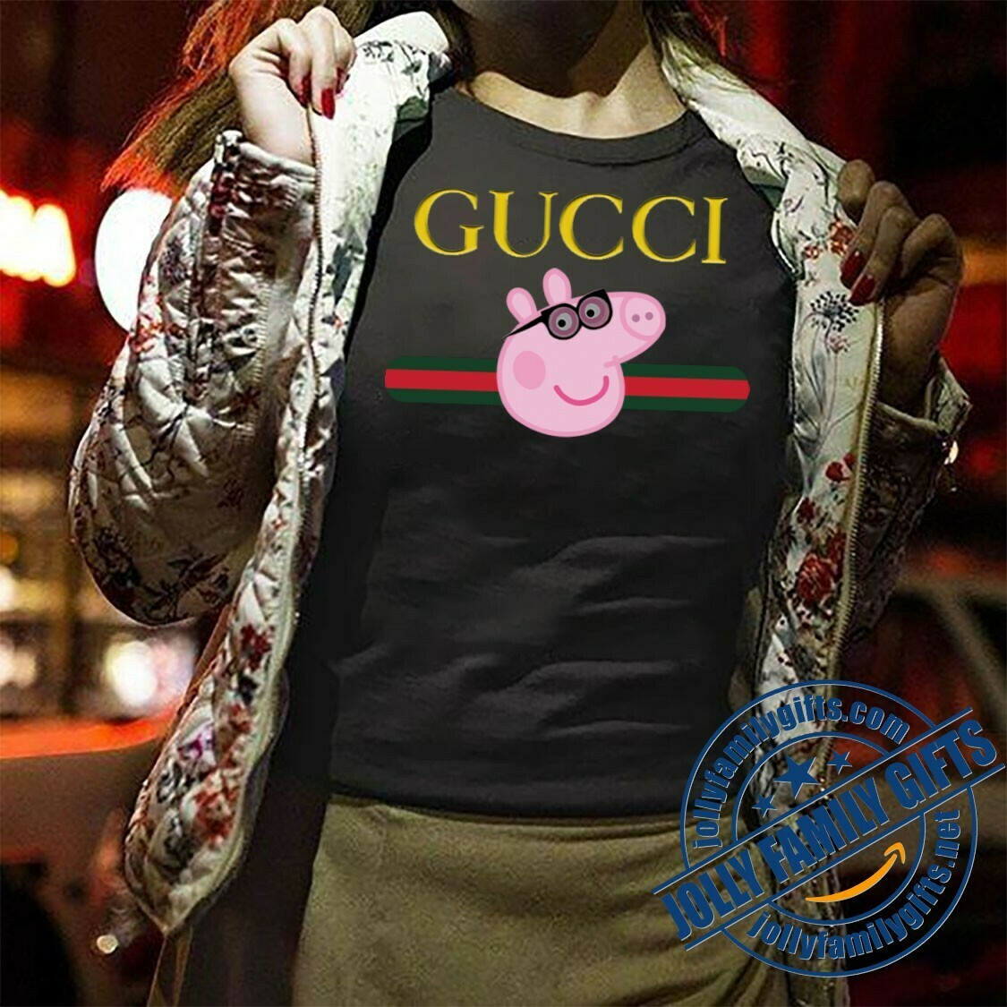 Peppa Pig,Logo Gucci,Gucci Shirt,Gucci T-shirt,Gucci Logo,Gucci Fashion shirt,Fashion shirt,Gucci Design shirt,Snake Gucci vintage shirt Unisex T-Shirt Hoodie Sweatshirt Sweater for Ladies Women Men