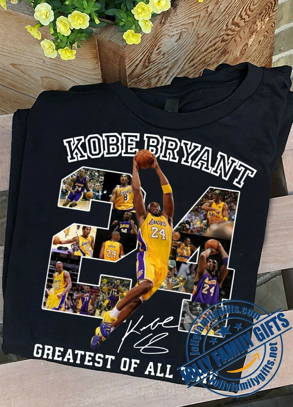 24 Black Mamba Kobe Bryant Greatest of all time legends never die signature Los Angeles Lakers thank you for the NBA memories  Unisex T-Shirt Hoodie Sweatshirt Sweater Plus Size for Ladies Women Men