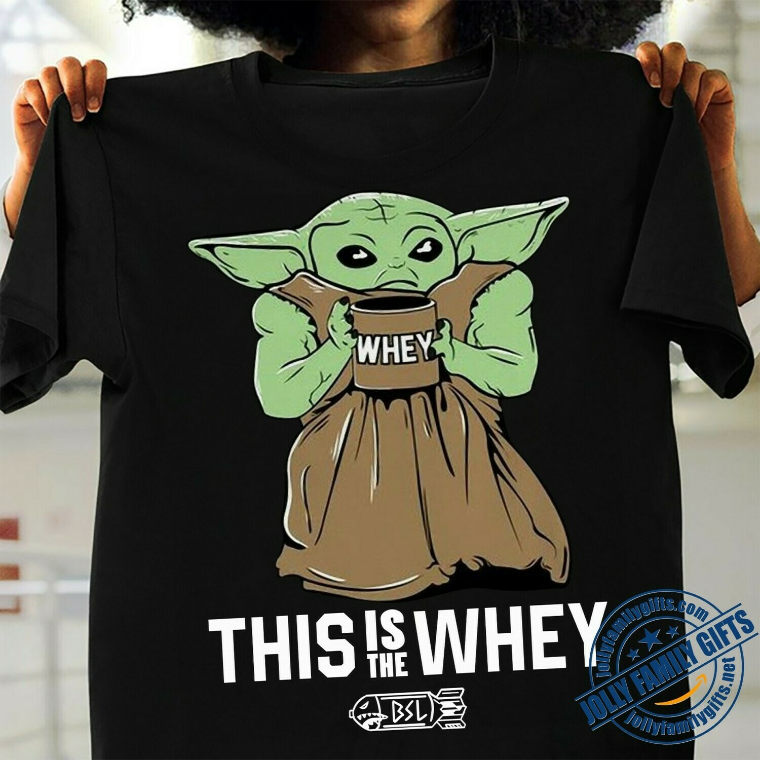 baby Yoda this is the whey master The Mandalorian with death Star Wars Movie s Unisex T-Shirt Hoodie Sweatshirt Sweater Plus Size for Ladies Women Men Kids Youth Gifts Tee Jolly Family Gifts