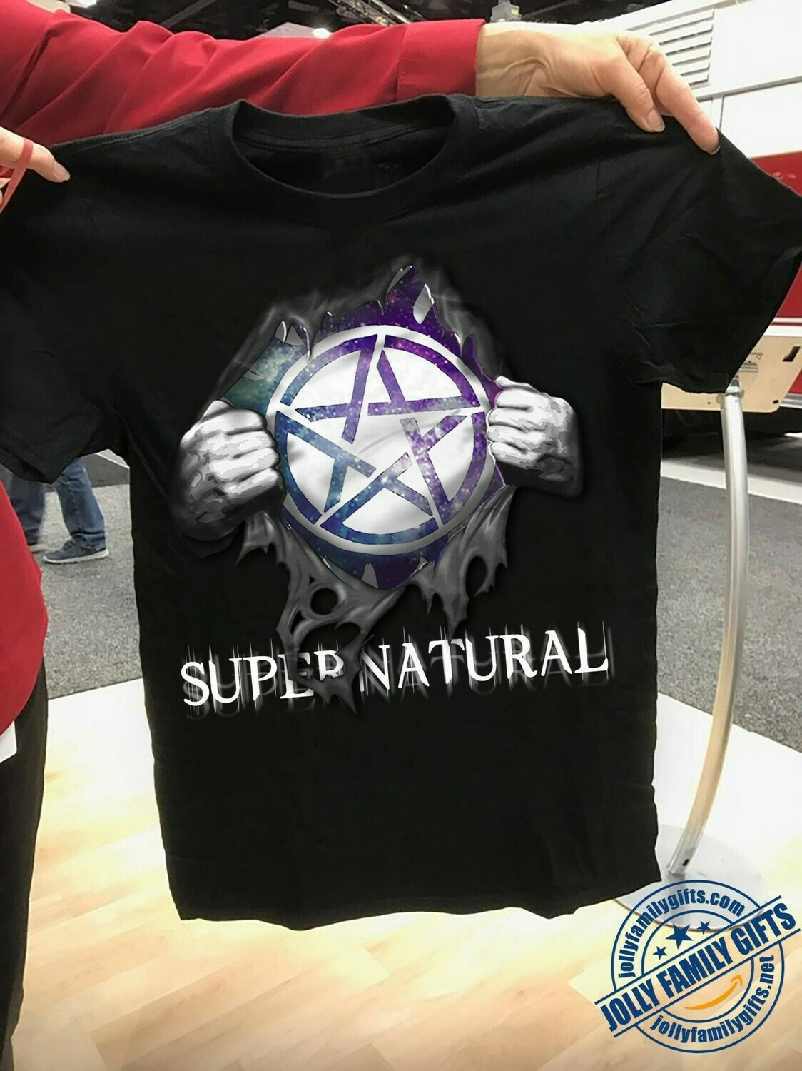 Supernatural Sam Dean Winchester 15 Years Just Funky Super Natural Join The Hunt  Unisex T-Shirt Hoodie Sweatshirt Sweater Plus Size for Ladies Women Men Kids Youth Gifts Tee Jolly Family Gifts