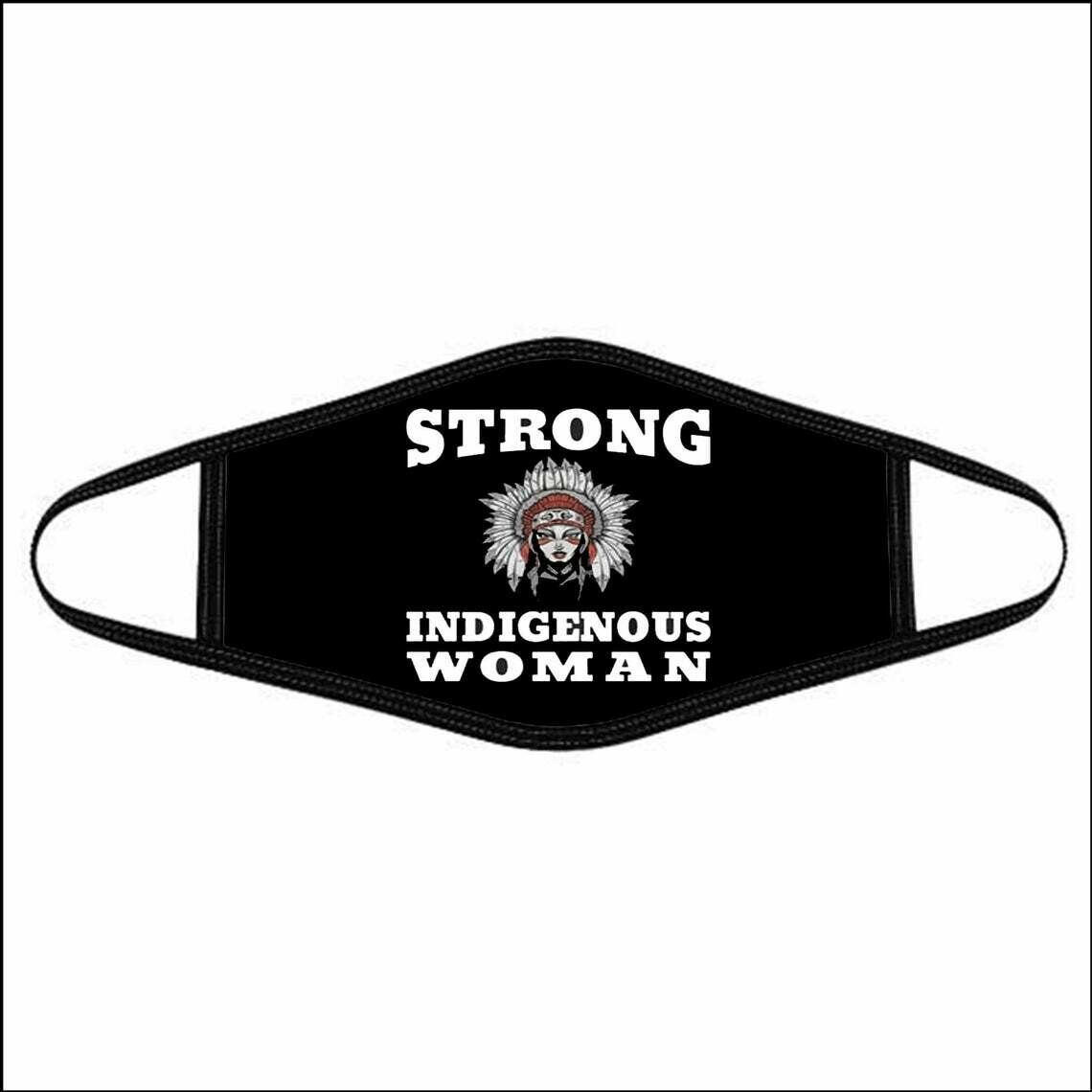 Native American Face Masks Native American Women Face Mask Strong Indigenous Women Washable Cotton Face Mask