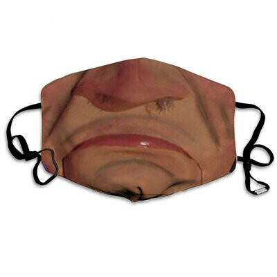 Walter Jeff Dunham 3 Layer Face Mask,Adult Kid FaceMask,Washable & Reusable Face Mask,FAST Shipping! Made in USA!