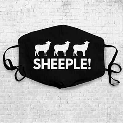 SHEEPLE Mask,This is dumb,I am wearing this against my will,Light Armor Face Mask, this mask is as useless as our governor,RPG Video Game Skyrim Mask,Very Comfortable
