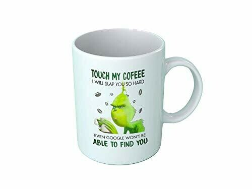 Touch my coffee i will slap you so hard Mug! Funny Graphic Mug Coffee Mug Ceramic Black/White Mug 11oz 15oz Perfect Gift For Friends Family