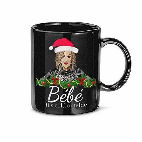 Merry Christmas Bébé Coffee Mug,Moira Rose,Funny Christmas Mug,Fun, Baby It's Cold Outside Merry Xmas