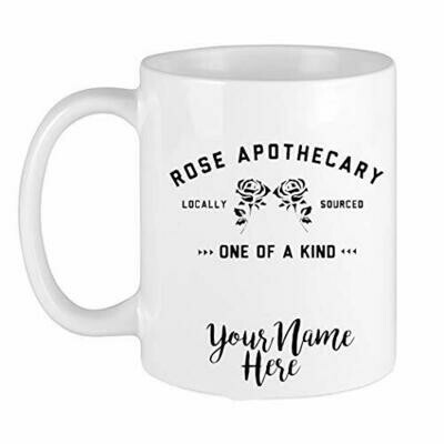 Personalized Rose Apothecary Mug, Schitts Coffee Cup, Ew David Mug, Schitts Fan Gift, David Rose, Alexis Rose, Creek Fan Birthday Gift 11oz 15oz Ceramic Accent Mug