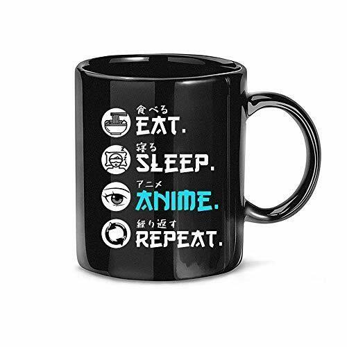 Eat Sleep Anime Repeat Mug, Anime Coffee Mug, It' An Anime Thing, It's Not Cartoon It Anime Mug, Ceramic Accent Mug 11 oz 15 oz