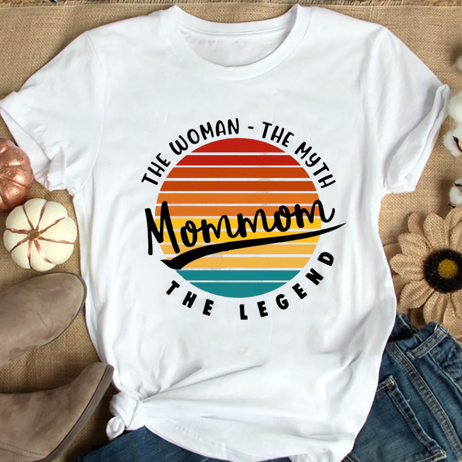 2021 Gift shirt,Momom The Woman The Myth And The Legend Retro Style Tee, Mother's Day Gift, Gift for Mom, Best Mom Ever, Gift for Wife Trending Unisex Hoodies Sweatshirt Long Sleeve V Neck Kid T Shirt