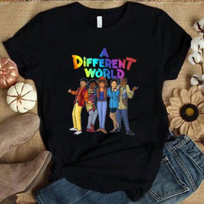 A Different World Shirt, Lgbt Pride Shirt,Love is love T shirt, Lgbtq Tee, Gay Pride Gift, Lesbian Matching, LGBT Equality, Bisexual Trending Unisex Hoodies Sweatshirt Long Sleeve V Neck Kid T Shirt
